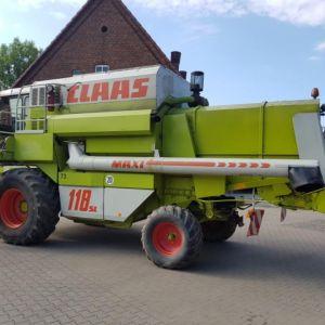 Claas Dominator 118